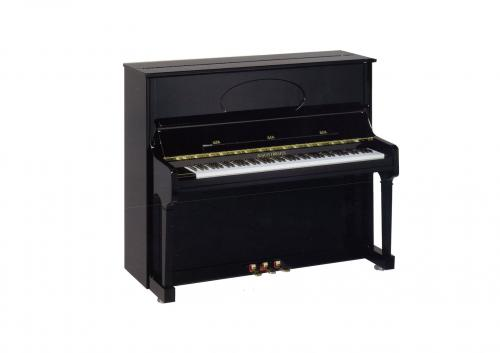 PIANOS DROIT Forster August 125G Noir brillant